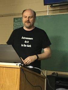 presenter, astronomy